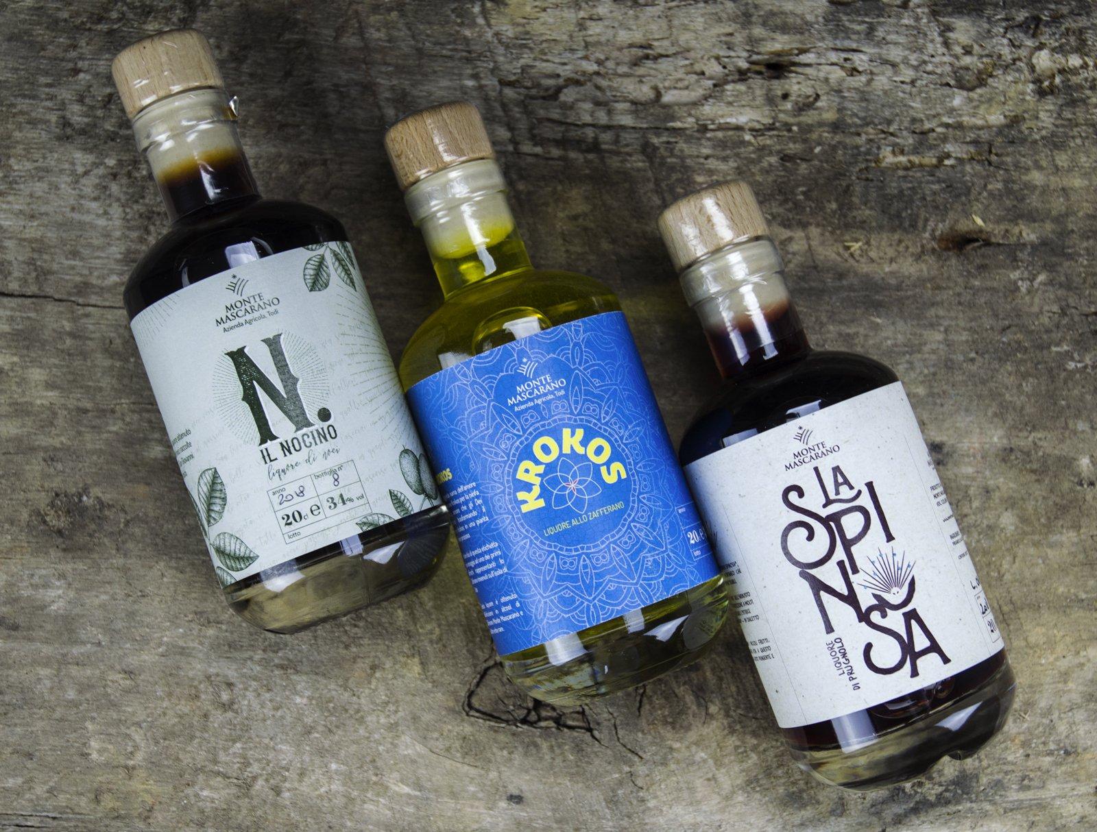 I liquori, La Spinosa, Krokos, Nocino
